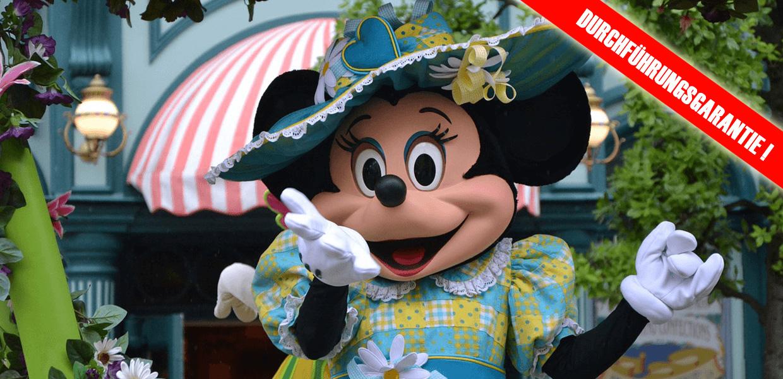 Disneyland Paris Durchführungsgarantie
