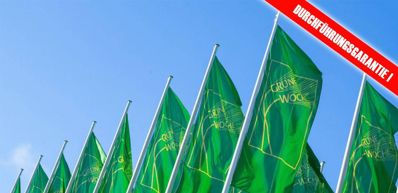 Grüne Woche Durchführungsgarantie